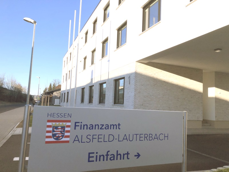 Stärken nach Ansicht der CDU das Mittelzentrum Lauterbach: Zentrale Landesbehörden wie die neue Grunderwerbssteuerstelle der Landesfinanzverwaltung in Lauterbach.